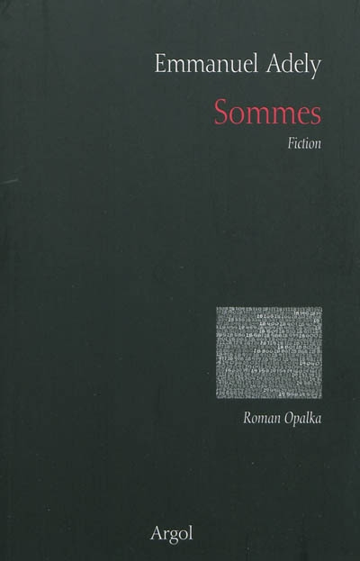 Sommes : fiction