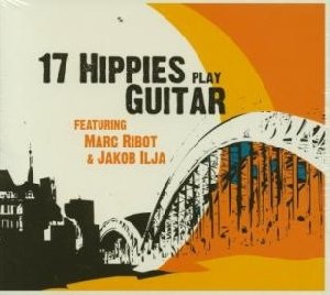 17 hippies play guitar