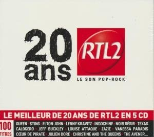 20 ans RTL2 le son pop rock