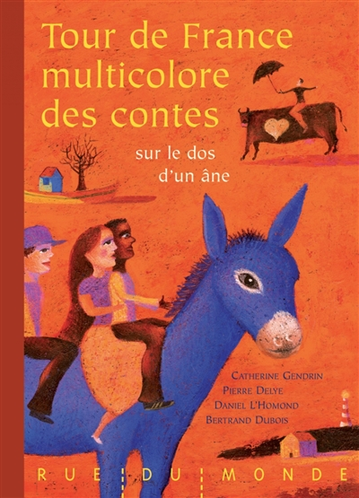 Tour de France multicolore des contes