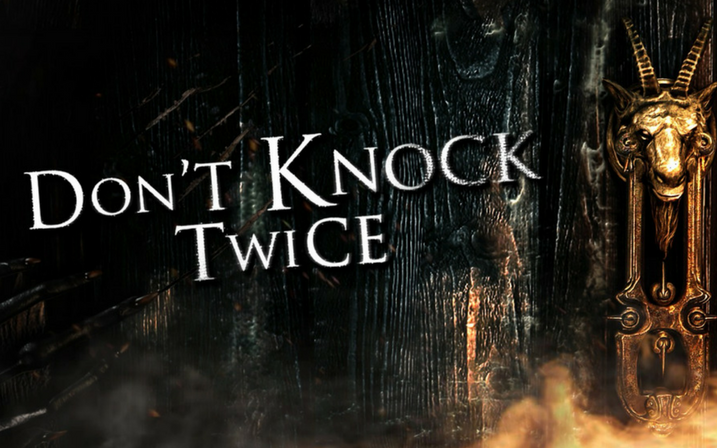 Peur Et Frissons Revient Jeux Video Don T Knock Twice